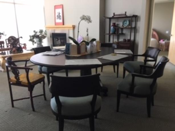  Log In needed $950 · Martha Stewart Dining Room table and Chairs