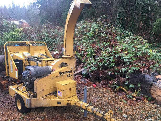 Log In needed $6,200 · Vermeer BC625 wood chipper
