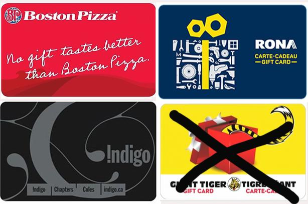 New Unused Gift Cards - Make a reasonable offer!