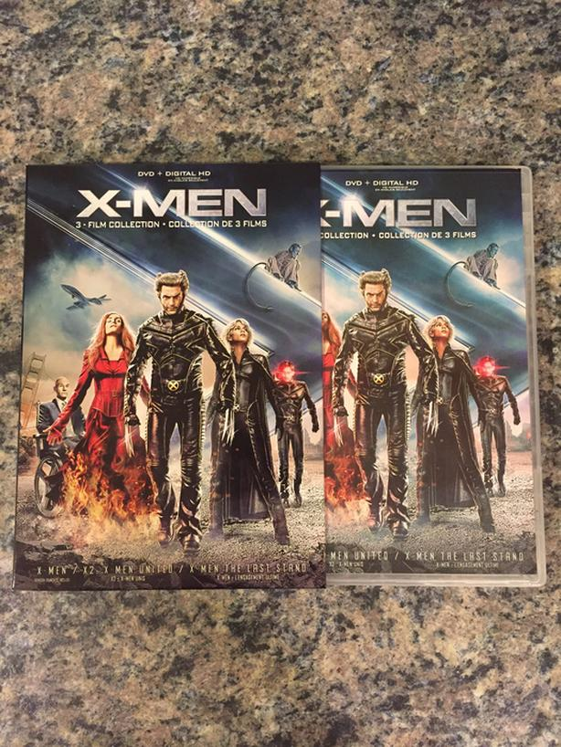 X-Men 3 Film Collection (DVD)