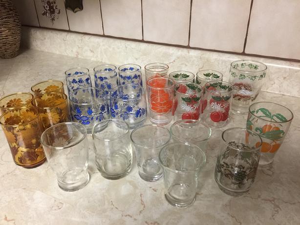 23 Vintage Glasses