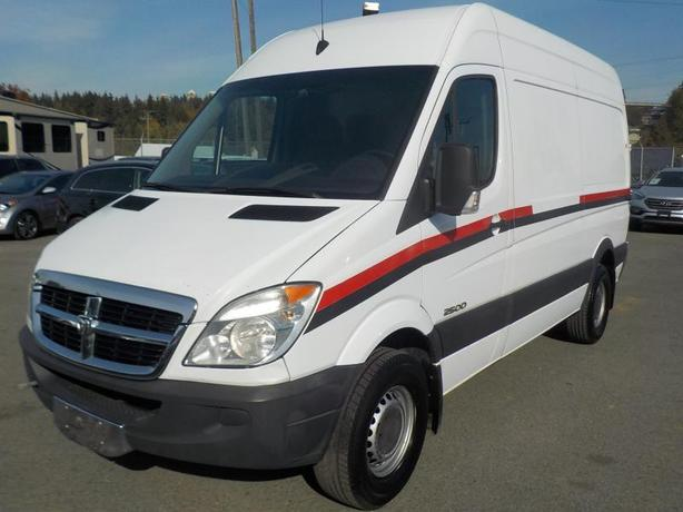2007 Dodge Sprinter High Roof 2500 144-in. WB Cargo Van Diesel with Power Invert