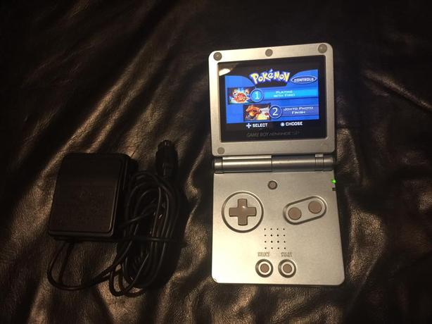 Nintendo GBA SP AGS 101 with Pokemon show Esquimalt & View