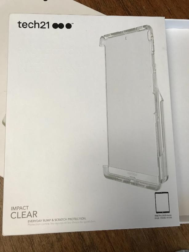 sale retailer 246a2 3fd53 REDUCED: tech21 Impact Clear Case for iPad Pro 10.5 Victoria City ...
