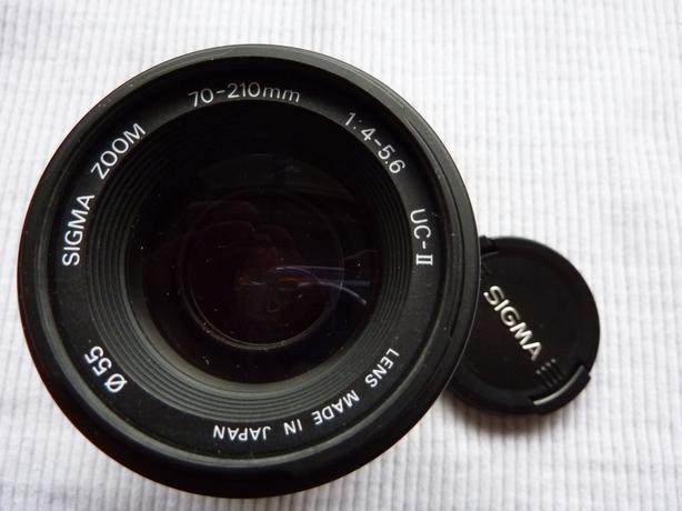 Sigma UC ll 70-200mm auto focus camera lens for Pentax