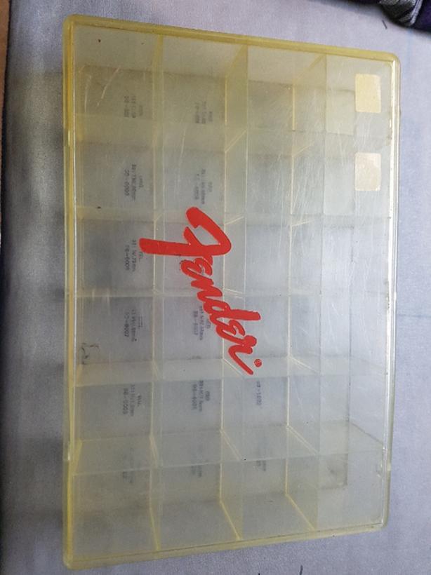 Fender pick case