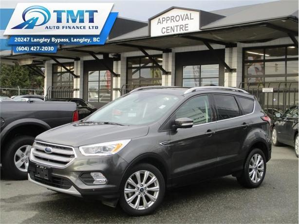 2017 Ford Escape Titanium  - Leather Seats -  Bluetooth - $207.83 B/W