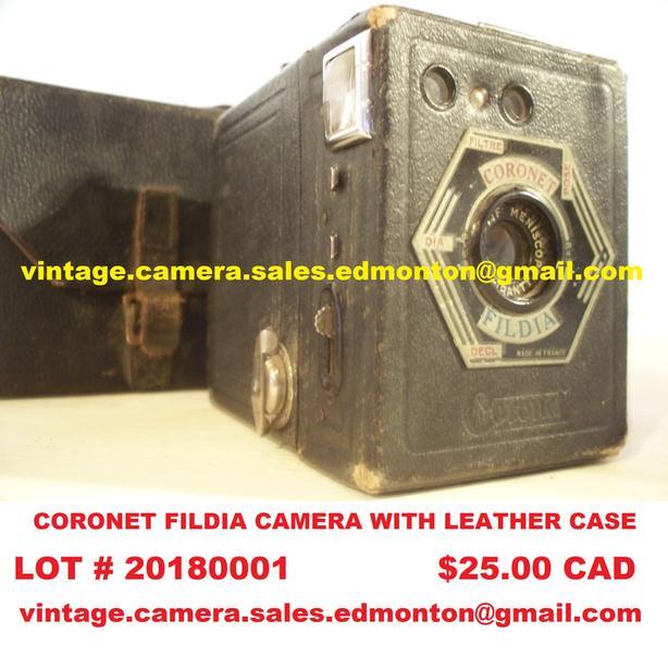 Coronet Fildia Camera with Leather Case