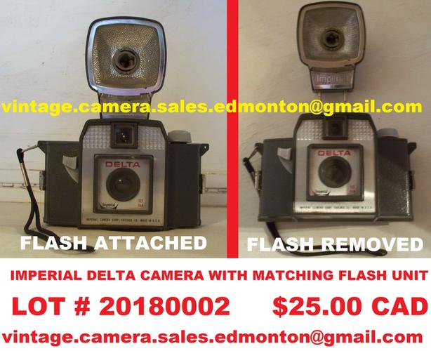 Imperial Delta Camera with Matching Flash Unit