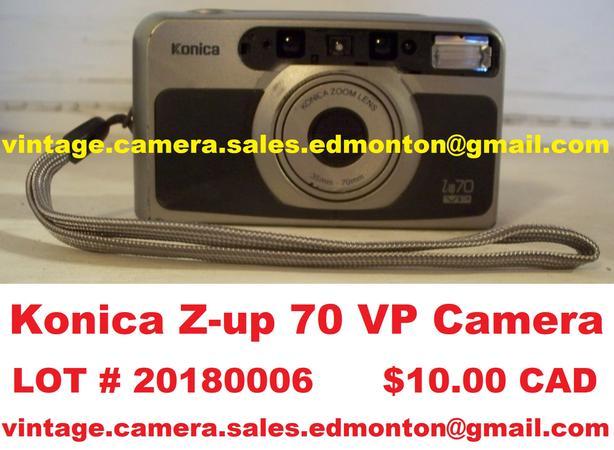 Konica Z-up 70 VP Camera