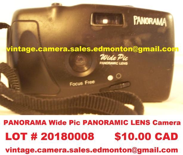 PANORAMA Wide Pic PANORAMIC LENS Camera