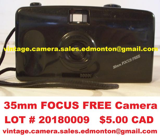 35mm FOCUS FREE Camera