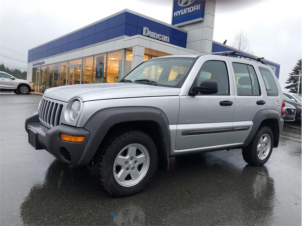 2003 Jeep Liberty Sport 4X4 AUTOMATIC