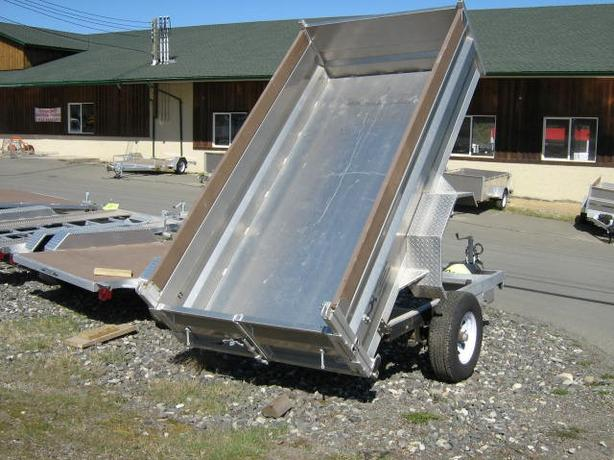 All Aluminum Dump Trailers