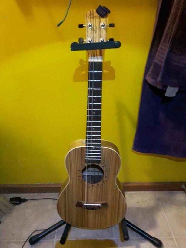 DGBE tenor ukulele Outside Victoria, Victoria