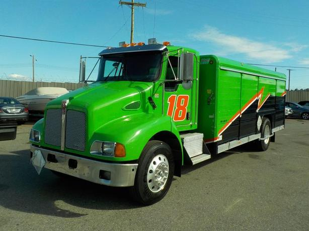 2008 Kenworth T300 Dually Cube Van Diesel Transport Delivery Truck Air Brakes 20