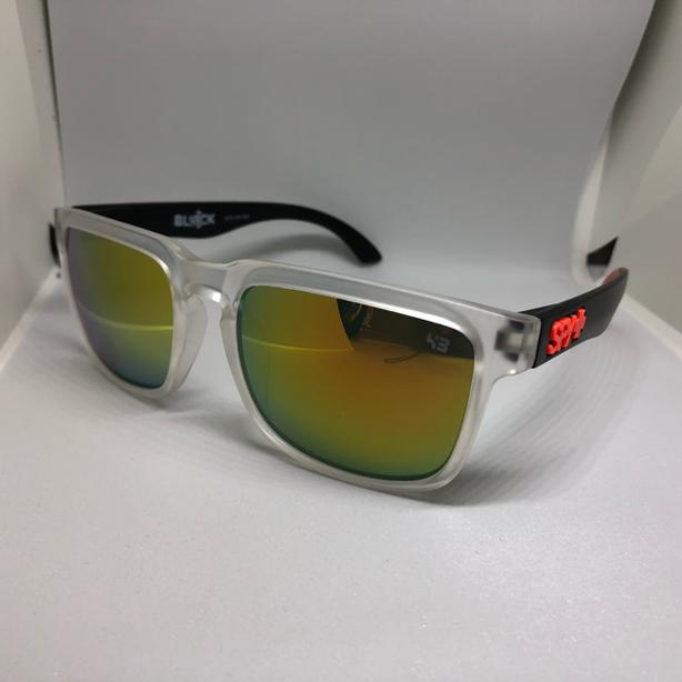 Brand new Designer Unisex Clear Sunglasses with Dust Bag