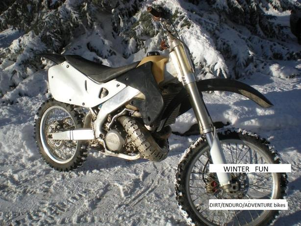 1998 HONDA CR 250R  view more  Trail/Enduro/Adventure bikes