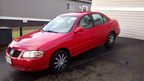 Nissan Campbell River >> 3 000 2005 Nissan Sentra Se 5 Speed Great Shape Trades
