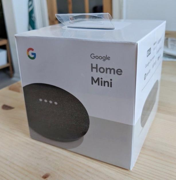 Google Home Mini Coral Charcoal And Chalk Brand New In Box Sealed Smart Speakers Hubs Accessories Smart Speakers