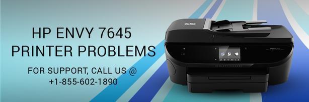 How to fix HP Envy 7645 printer errors?