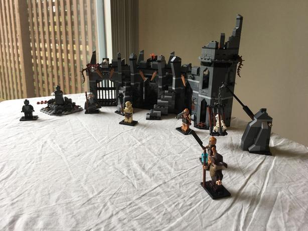 Retired Hobbit LEGO set #79014  - DOL GULDUR BATTLE