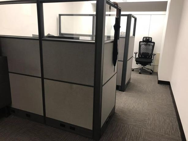 Office Furniture - New- Desk, Chairs, Patitions