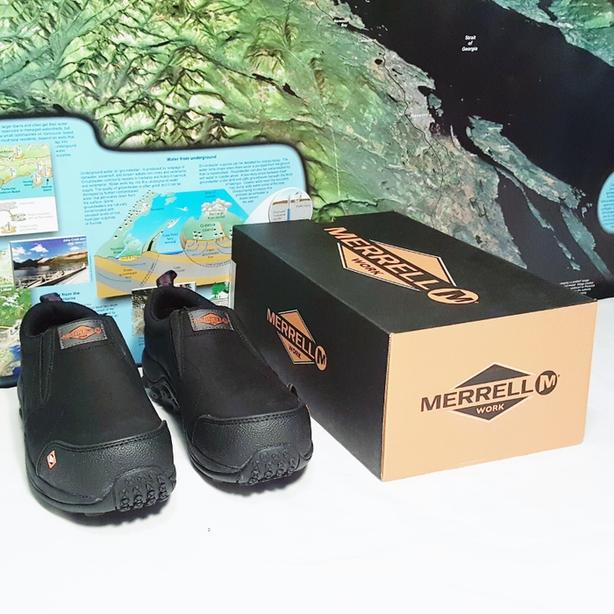 2ec6b28a00  Log In needed $80 · NEW Women's Merrell Jungle Moc Composite Toe Safety  Work Shoes Size 6.5M
