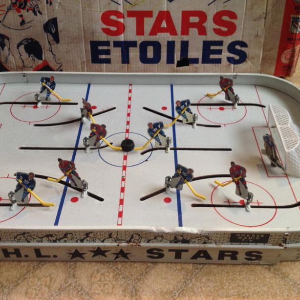 1950's Eagle Toys Nhl Hockey Game with Original box