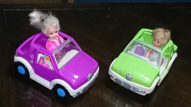 Car with doll