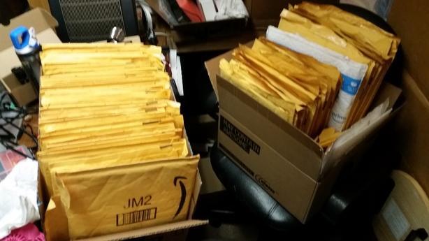 FREE:  Used bubble envelopes