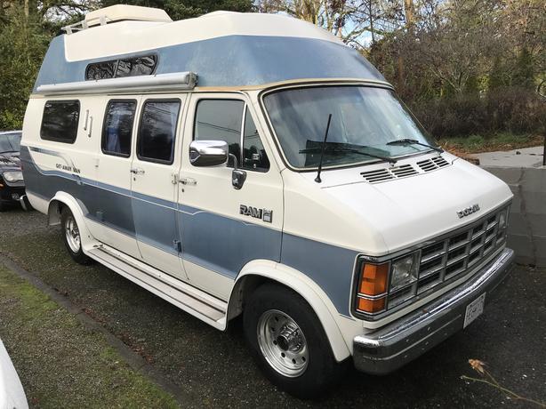  Log In needed $9,200 · 1988 Dodge Getaway Camper Van