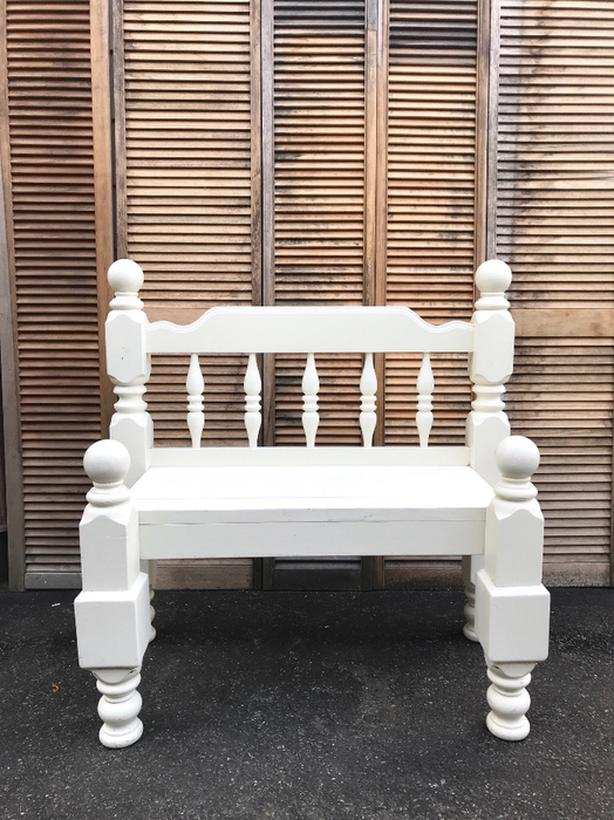 Prime Log In Needed 60 White Bench Coastal Cottage Bench Farmhouse Bench Indoor Or Out Gmtry Best Dining Table And Chair Ideas Images Gmtryco