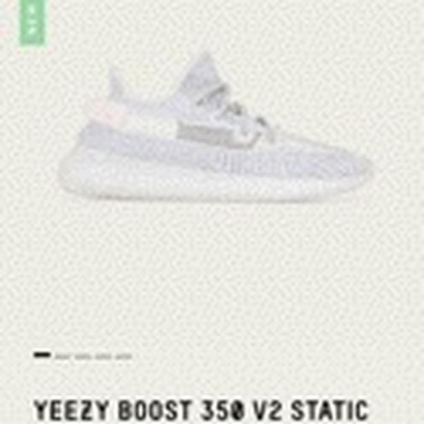 Brand new YEEZY BOOST 350 V2 STATIC NON-REFLECTIVE Size: 9 US