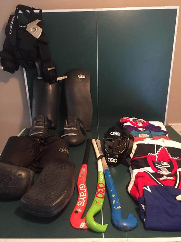 Field Hockey Goalie Equipment Oak Bay Victoria