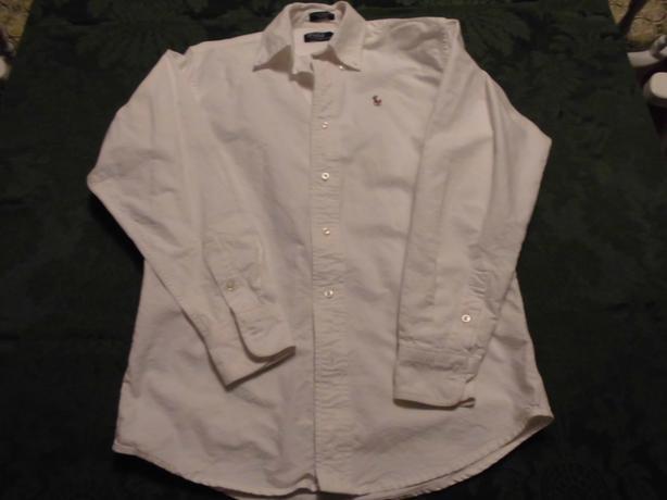 Polo White Shirts : size 14