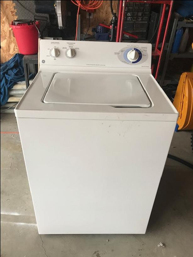  Log In needed $125 · Ge Commercial Washing Machine