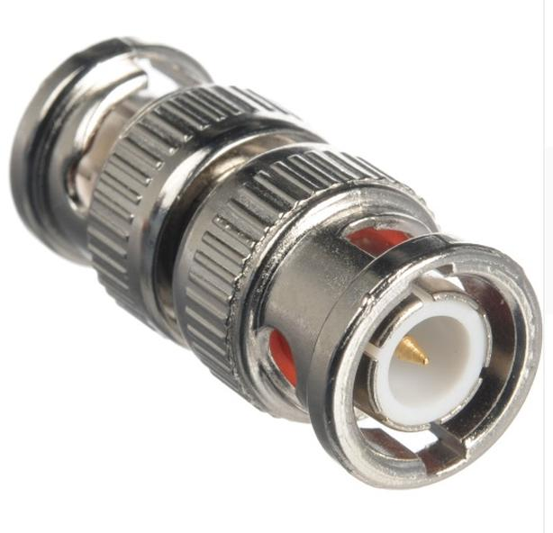 BNC Coupler Male to Male Connector Adapter Gender Changer