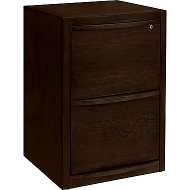 FREE: Filling Cabinet - Dark Wood