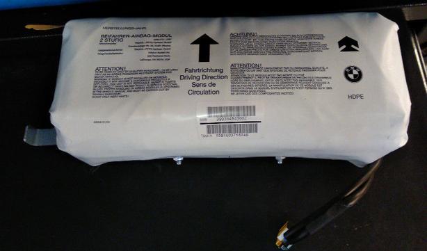 BMW 330i E46 Passenger Front Air Bag
