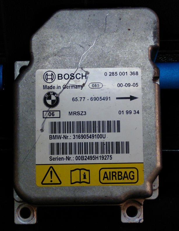 BMW E46 3 Series Airbag Air Bag Module ECU Control Unit 6905491
