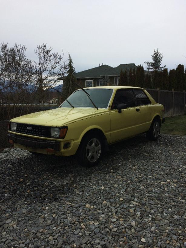 FOR TRADE: EXTREMELY RARE 1982 Toyota Tercel