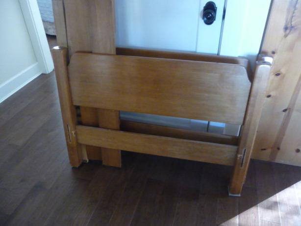 Twin Maple Bed Frame Oak Bay Victoria