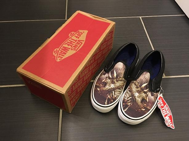 40acc99f33 Vans Classic Slip On Runners - kids size 2 West Shore  Langford ...