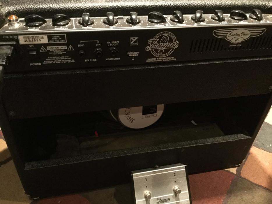 $450 · Traynor YCV40 tube guitar amp
