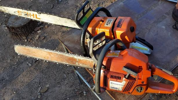 Wanted dead Husqvarna Stihl chainsaws
