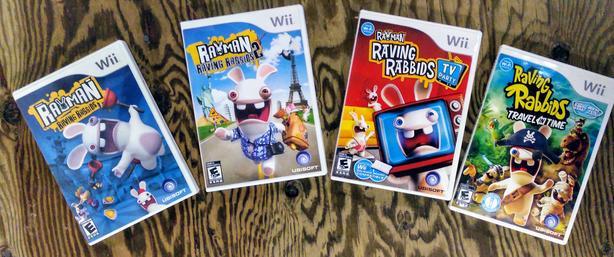 Wii Games - Rayman Raving Rabbids