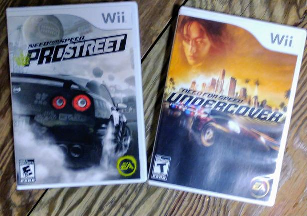 Wii Games - Need for Speed