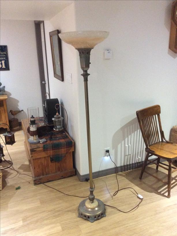 ANTIQUE FLOOR LAMPS PRICE REDUCED