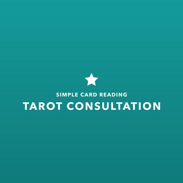 c308de93f4d77 Tarot Consultation - Simple Card Reading East Regina